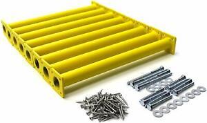 "Eastern Jungle Gym Steel 15-1/8"" Monkey Bars Ladder Rungs Complete Hardware Kit"
