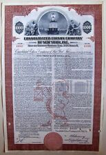 Consolidated Edison Company of New York, Inc $1000 bond dated 1952