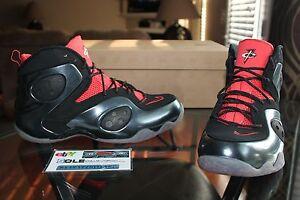 Nike Zoom Rookie Black Max Orange House of Hoops HOH Exclusive 500 Pairs Size 11