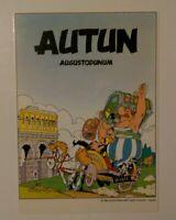Carte postale Astérix Autun Augustodunum 1985