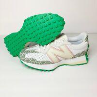 New Balance 327 x Casablanca White/Peach/Green #MS327CAB Men's Shoes US 8