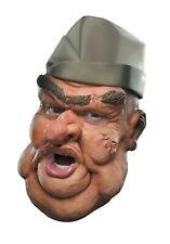 "Mask Comical Character Full Head Latex ""Sarg"" Halloween Mask"