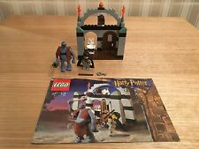 Lego -  Harry Potter 4712 - Troll on the Loose - Complete with Instructions