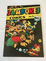 JAMBOREE COMICS #2, ROUND PUBLISHING, 1946, VF