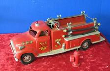 Vintage 1950's Tonka Firetruck w/ Hydrant