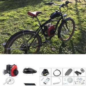 4-Takt 49CC Seitenmontage Motor Kit Fahrrad Benzin Hilfsmotor für 26-28 Zoll