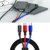 VW trenzado Cable Usb Micro 30cm 000051446R Nuevo Original VW Parte
