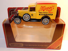 MATCHBOX FORD VAN MODEL A 1930 Y22 MAGGI'S SUPPEN & SPEISEN WURZE 1/40 IN BOX