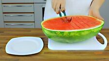 Affettatrice Anguria in fette in Acciaio INOX Lama Decorazioni frutta Ristorante