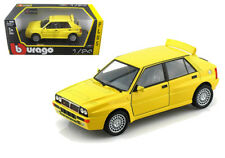 Bburago 1/24 Lancia Delta HF Integrale Evo 2 Diecast Model Car Yellow (18-21072)