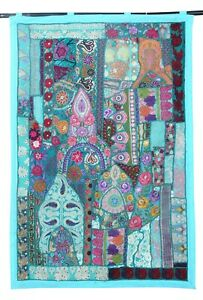 Wall Hanging Wall Decor Patchwork Bohemian Embroiderd Indian Home Decor Tapestry
