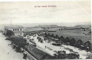 THE WHARF  COLOMBO  CEYLON  SRI LANKA