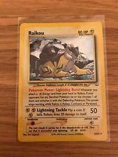MINT! Raikou (13/64) Neo Revelation Holo Pokemon Card!