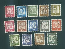 Germany 1961-1964 Famouse person Sc#824-839 without 2 stamps