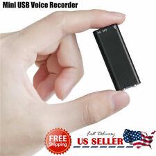 Mini Spy Audio Recorder Voice Listening Device 96Hours 8GB Bug + 2 Year Warranty