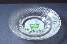 HOLIDAY INN ASHTRAY, green logo ashtray, hotel souvenir, vintage ashtray, EUC