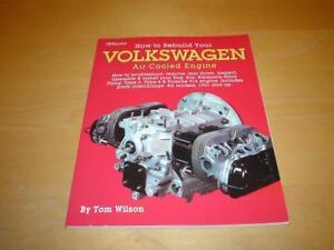 Rebuild PORSCHE 914 AIR-COOLED ENGINES Owners Service Workshop Manual Handbook