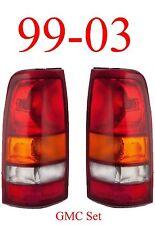 99 03 GMC Tail Light Set, Assembly, Truck, Sierra, 1500, 2500, Both Sides !!