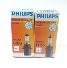 Pair of Headlight Bulb Standard Philips 9007 HB5 12V 65/55W PX29t