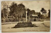 Japanese Garden Packard Park Warren OH Photo Postcard