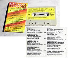 KLASSIK FESTIVAL Mozart, Beethoven / Karajan, Böhm, . Dt. Grammophon MC TOP