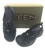 New Men's Keen Venice H2 Waterproof Hiking Sandals Black Multiple Sizes