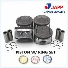 02-07 TOYOTA CAMRY RAV4 SOLARA  L4 16V DOHC 2AZFE 2.4L Piston w/ring Set PRK212