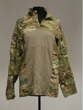 Us Army Acs Type 2 1/4 Zip Multicam Combat Shirt, Large, Flame Resistant, Used