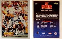 Jay Barker Signed 1995 Classic NFL Rookies #105 Card Alabama Auto Autograph