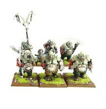 Warhammer Fantasy/Ejercito reinos ogros edad de Sigmar ogors x6 Pintado