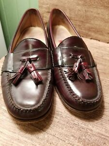 Cole Haan City Pinch Tassel Loafers 3507 Size 11 D Brown