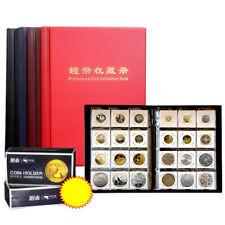 Los titulares de Colección Álbum de monedas de 120 Bolsillos Libro De Almacenamiento Organizador Regalo Hazlo tú mismo Penny