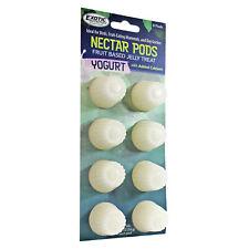 Yogurt Nectar Pods - Healthy Jelly Treat for Sugar  00006000 Gliders, Birds, Geckos