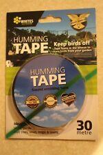 Bird Pest Control Scare Repellent Deterrent Ultrasonic Audible Humming Line Tape