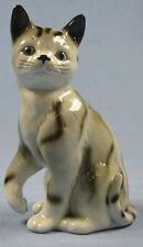 Katze Katzenfigur Porzellanfigur katze gemarkt porzellankatze,sitzend g