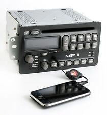 Pontiac Aztek Sunfire 2004-2005 Radio AM FM mp3 CD Player w Aux Input - 10348716