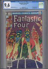 Fantastic Four #232 CGC 9.6 1981 Marvel 1st Full John Byrne Issue, Diablo App