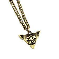 Yu-Gi-Oh! Millennium Puzzle Pendant Necklace+chain