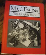 MC Escher The Graphic Work 1994 Over 80 of His Works Free US Shipping Look!