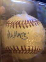 Mark McGwire Autographed 1989 World Series Ball.  With Certificate