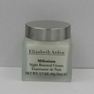 ELIZABETH ARDEN MILLENIUM  NIGHT RENEWAL CREAM  1.7 OZ/50ML NWOB