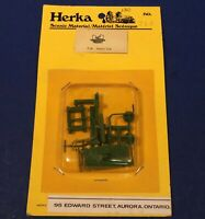 Old Herka HO Scale Green Railroad Hand Car Kit #714