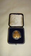Cased 1933 Midland Counties Amateur Athletics Sterling Silver Medal - Discus