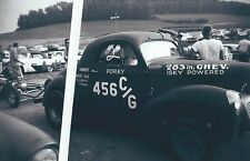 "1960s Drag Racing-1940 Willys C/Gas Coupe-""Filthy Forty""-Porky Zartman-YORK US30"