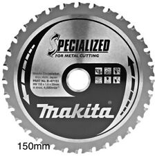 MAKITA 150mm SPECIALIZED B-47151 CIRCULAR SAW BLADE 150X20X32T FOR METAL CUTTING
