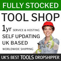 Dropship Tools UK + World | Fully Stocked eCommerce Store Website 1year service