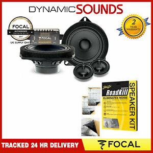 """Focal IS BMW 100L - 4"""" 2-way Component Speaker Upgrade Kit for BMW 1 Series"""