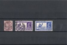 INDIA  1937-41 + 1883  3 timbres