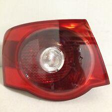 2005 2006 2007 Volkswagen Jetta Left Driver Side Tail Light Cherry Red OEM Shiny
