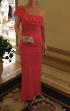 Ladies Lipsy Dress Size 10 Coral